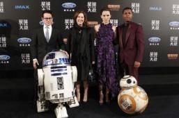 'Star Wars: The Force Awakens' premieres in Shanghai