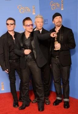 U2 to play Mandela song at Oscars