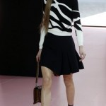 Autumn fashion on the Paris catwalk looks dark and leggy
