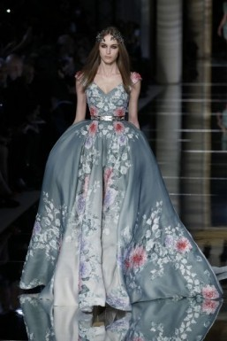 Hips don't lie: Zuhair Murad showcases romance while Sergeenko goes back to the 1980s at haute couture week