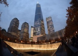 New York celebrates opening of World Trade Center deck