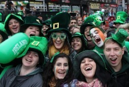 Dublin a sea of green for St Patrick's Day