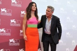 Clooney, Bullock space thriller opens Venice film fest