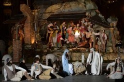 Vatican unveils Nativity scene on pope's first Christmas
