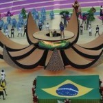 Football: Trapdoor J-Lo adds glamour to opening ceremony