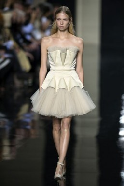 LFW: architectural folds at Christopher Kane