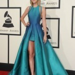 Stars in black and white on Grammys red carpet