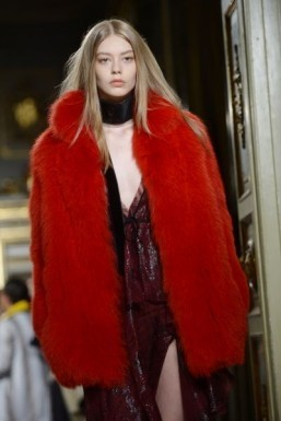 Fur is on-trend for Fall-Winter 2015-2016