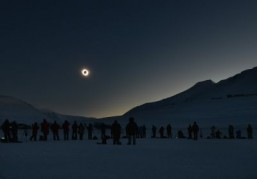 Magical views from top of the world for solar eclipse