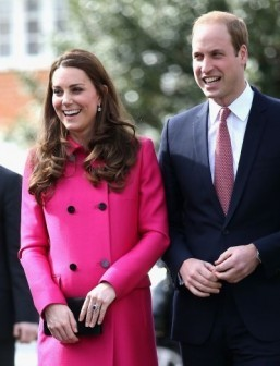 Prince William's wife Kate in labour