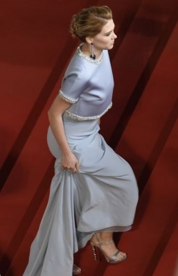 French actress Lea Seydoux in Miu miu dress ©AFP PHOTO / LOIC VENANCE