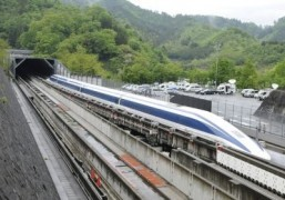Japan's maglev train breaks new world speed record