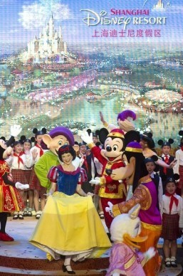 Disney eyes bigger plans with Shanghai