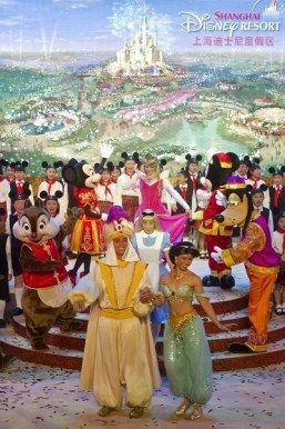 Disney China opening delayed to 2016