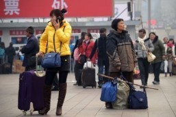 China gears up for peak New Year travel period