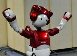Japan's Hitachi unveils joking robot