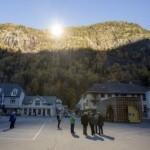 Giant mirrors bring winter sun to Norwegian village