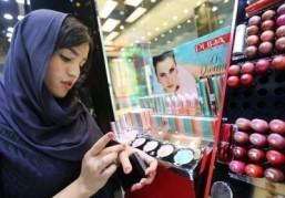 For Iran's women, makeup speaks volumes