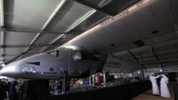 Solar plane set for landmark round-the-world flight