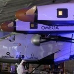 Solar plane revs up for historic round-the-world flight