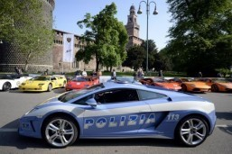 Lamborghini hits road on anniversary tour of Italy