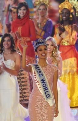 Philippines celebrates its first Miss World winner