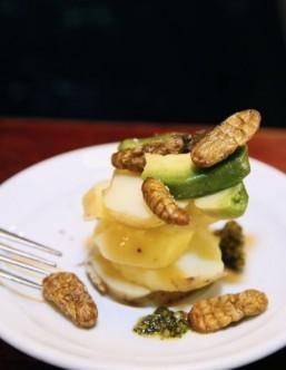 Scorpions, beetles on menu at Paris bar
