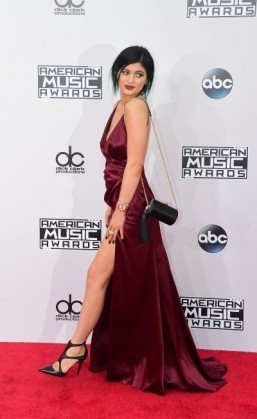 Kylie Jenner at November's American Music Awards The star is known for her voluminous pout. ©AFP PHOTO/FREDERIC J. BROWN
