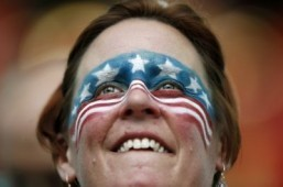 World Cup fan of the day: Stars & Stripes