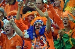 World Cup fan of the day: seeing orange