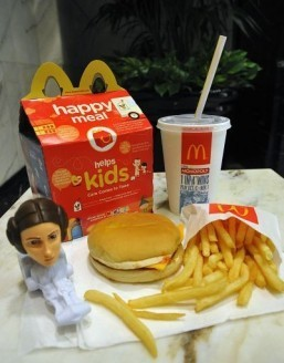 McDonald's US swaps toys for books in new Happy Meal campaign