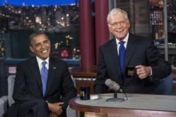 David Letterman saying good night to 'Late Night'