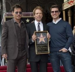 Star power: Depp, Cruise hail producer Bruckheimer