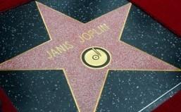 Janis Joplin gets posthumous Hollywood star