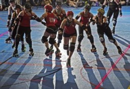 Roller derby, popular in US, gains traction abroad
