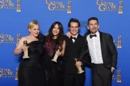 'Boyhood' wins big at Globes; next stop, Oscars