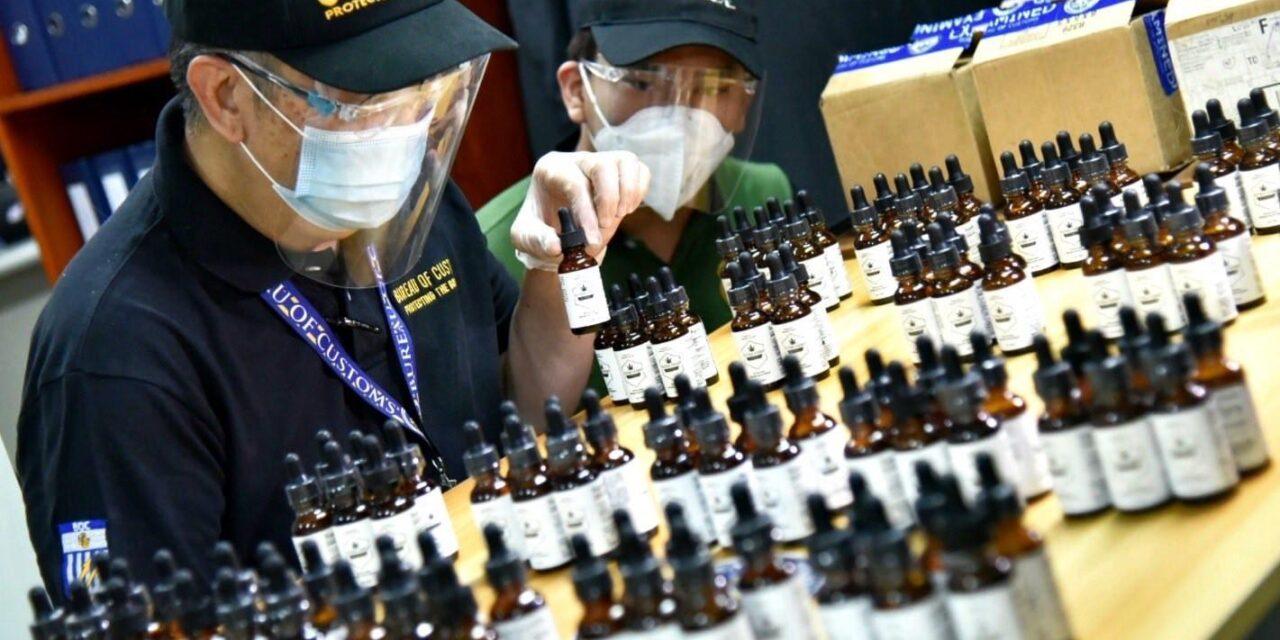 P100-M worth of fake signature bags, medicines seized — BOC