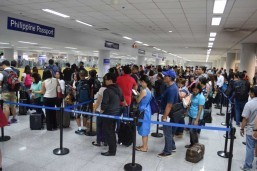 Bystanders using NAIA 3 as temporary shelter not unusual, says manager