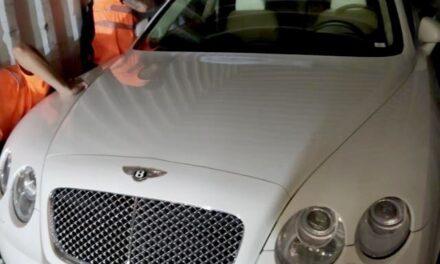 Smuggled Luxury Vehicles