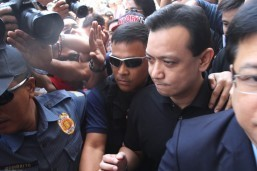 Trillanes files plunder raps vs Duterte over 'ghost employees'