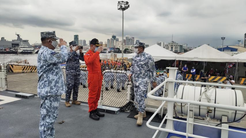 Philippine Coast Guard (PCG) Commandant, Admiral George V Ursabia