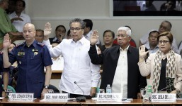 Roxas reiterates commitment for quick, transparent probe on Mamasapano clash