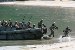 PHL, US troops conduct PHIBLEX maritime exercises in Cavite