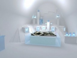 Frozen Paris is the theme of new ice hotel suite