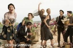 Eva Herzigova and Bianca Balti go Sicilian for Dolce & Gabbana