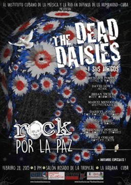 US rockers Dead Daisies to make rare Cuba tour