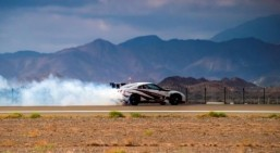 Nissan GT-R claims drifting speed record