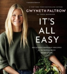Gwyneth Paltrow's latest cookbook aimed at busy super moms