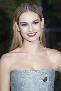 Lily James is new face of My Burberry fragrances