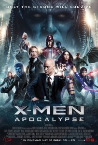 'X-Men: Apocalypse' straight into the number one spot at the global box office after opening weekend